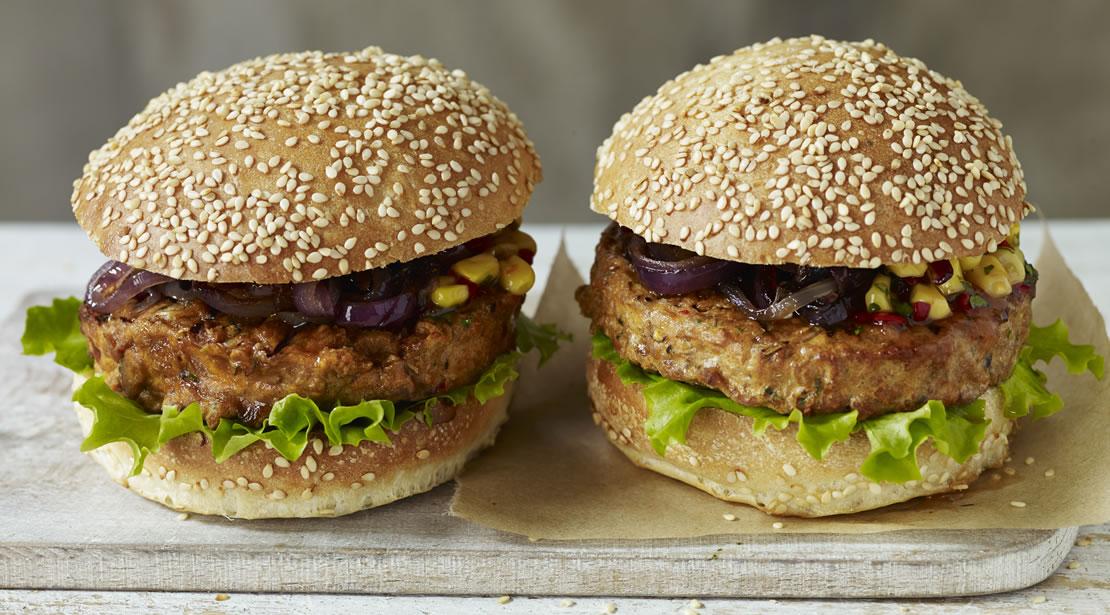 Vegetarian Peri Peri 1/4lb Burgers