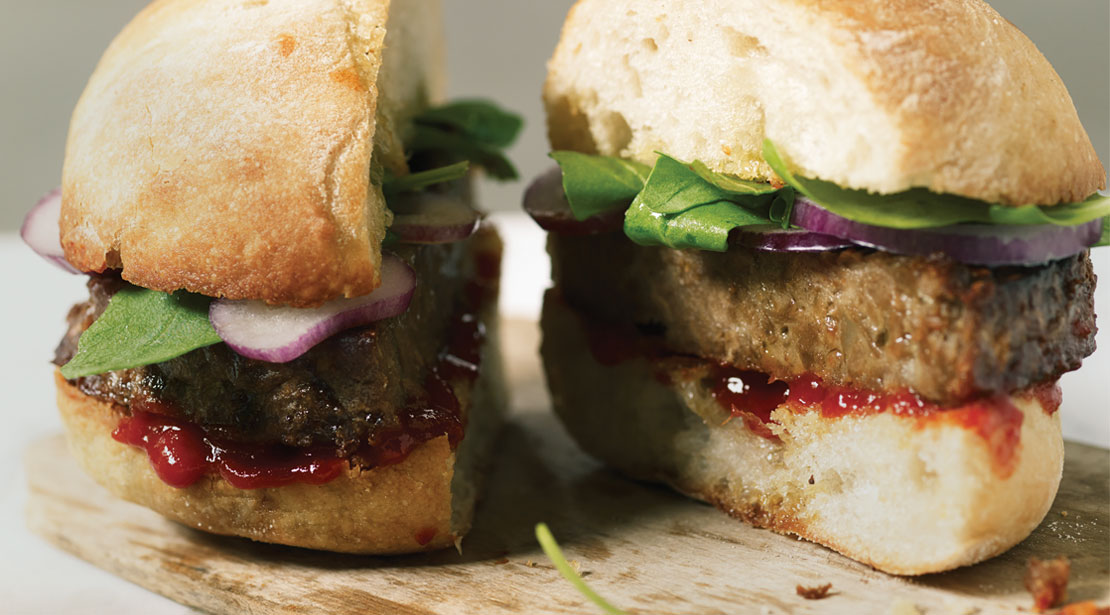 Vegetarian 1/4lb Burgers