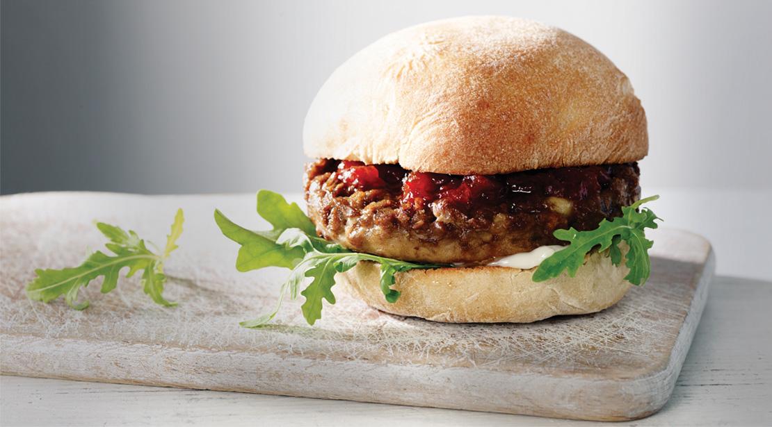 Vegetarian Mozzarella 1/4lb Burgers