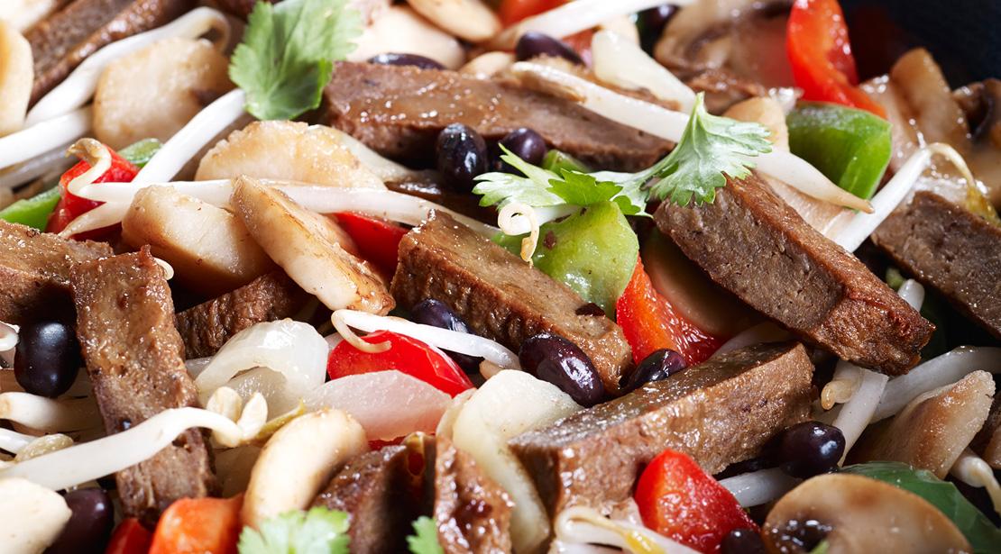 Vegetarian Beef-Style Stir-Fry