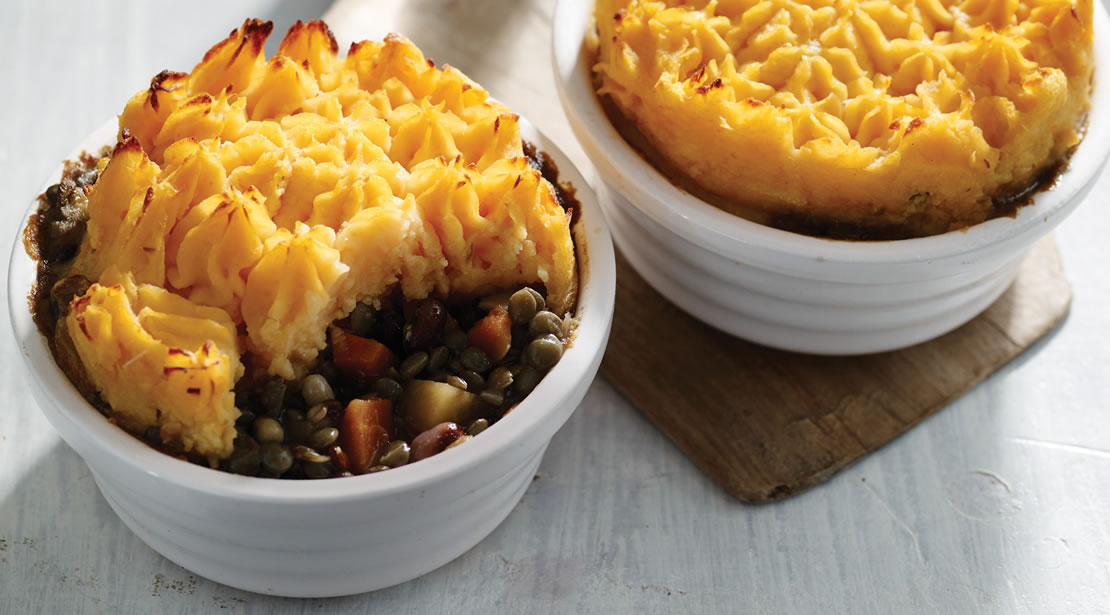 Lentil & Vegetable Cottage Pie