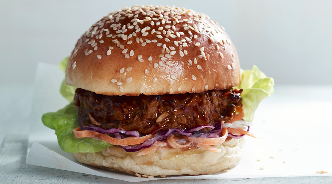 Vegetarian Pulled Pork 1/4lb Burgers