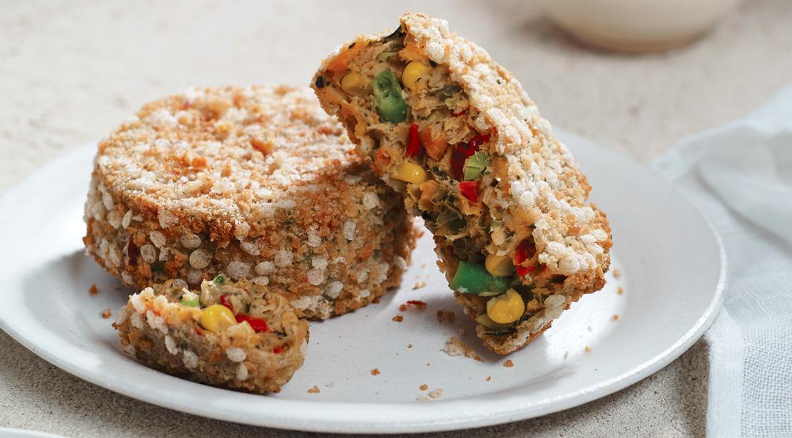 Aromatic Thai Sweet Potato Vegcakes